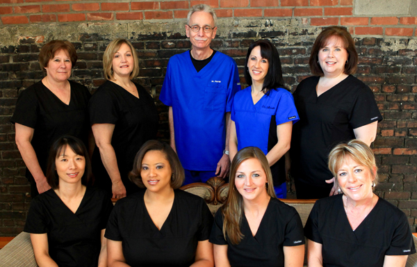Pediatric Dentists - Dr. David Parrish and Dr. Jaime Stinnett and staff